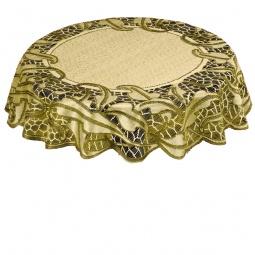 Купить Скатерть Haft 50913. Цвет: оливковый
