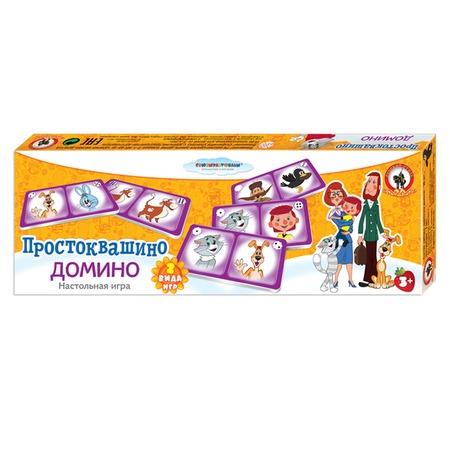 Купить Домино детское Русский стиль «Простоквашино»