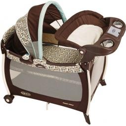 Купить Манеж-кровать GRACO Silhouette Carlisle
