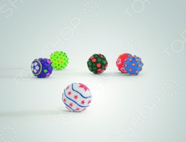 Игрушка для собак Beeztees «Мячик» 16278. В ассортименте трикси игрушка для собак щенок 8 см латекс цвет в ассортименте