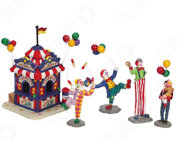 Фигурки керамические Lemax «Касса карнавала»