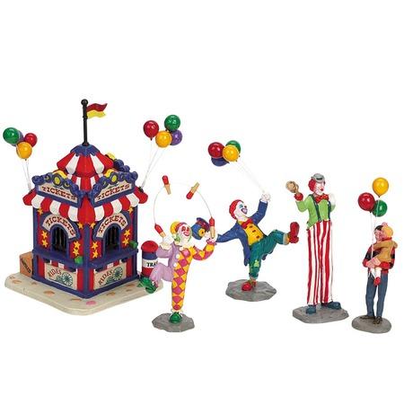 Купить Фигурки керамические Lemax «Касса карнавала»