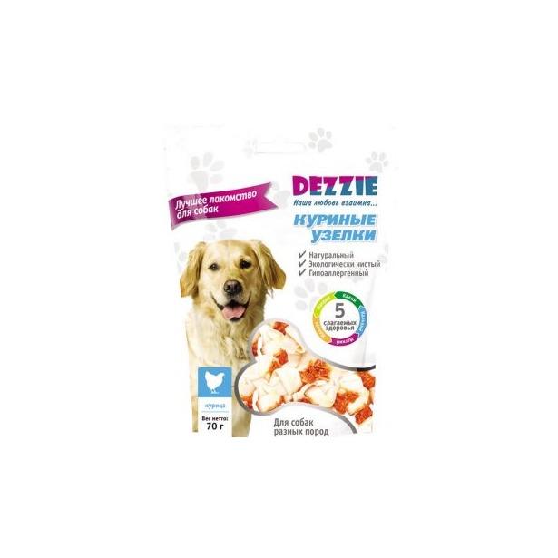 фото Лакомство для собак DEZZIE «Куриные узелки» 5634106