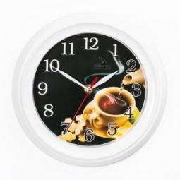 Купить Часы настенные Вега П 6-7-24 «Черный чай»