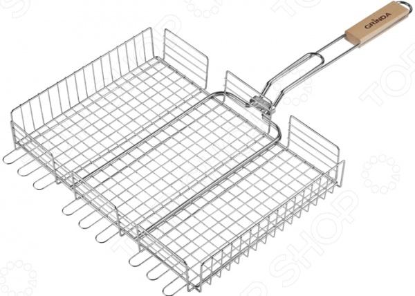 Решетка-гриль объемная Grinda Barbecue 424732 решетка гриль grinda barbecue 170x85mm 424730