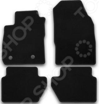 Комплект ковриков в салон автомобиля Klever Ford Ecosport 4Коврики в салон<br>Комплект ковриков в салон автомобиля Klever Ford Ecosport 4 высококачественные изделия из прочного ковролина с плотностью ворса в 500 гр м2. Особый материал гранулят и наличие фиксаторов предотвращают скольжение ковриков по салону автомобиля. Специальные полимерные вставки для размещения ног значительно продлевают срок службы изделий. Автоматизированный компьютерный раскрой ковриков позволяет с точностью до миллиметра определить форму изделия с учетом геометрии пола автомобиля. Поэтому водителю нет необходимости проводить с ними дополнительные манипуляции обрезать или подгибать. Кайма ковриков обработана крученой нитью высокой плотности, помогающей держать форму и обеспечивающей долговечность изделий. Поверхность ковриков достаточно легко очищается при помощи обычного пылесоса или влажной ткани с раствором моющего средства. Текстильные коврики помогут сохранить внешний вид салона эстетичным и уютным.<br>