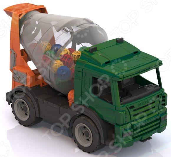 Машинка игрушечная Нордпласт «Бетономешалка»