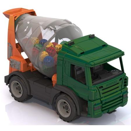 Купить Машинка игрушечная Нордпласт «Бетономешалка»