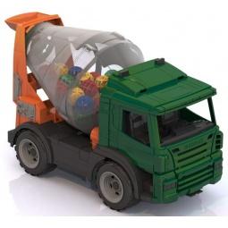 фото Машинка игрушечная Нордпласт «Бетономешалка»