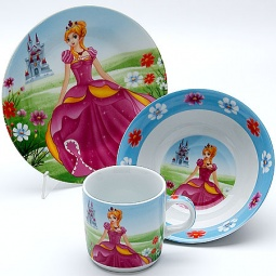 Купить Набор посуды для детей Mayer&Boch «Принцесса» MB-23393
