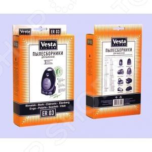 Мешки для пыли Vesta ER 03 мешки для пыли vesta lg 03 s