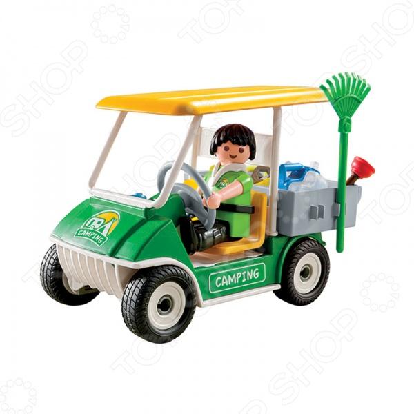 Конструктор игровой Playmobil 5437 «Машинка для обслуживания кемпинга» playmobil игровой набор королева лунного света с жеребенком пегаса