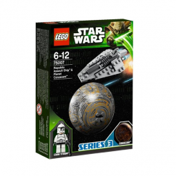 фото Конструктор LEGO Республиканский боевой корабль и планета Корусант
