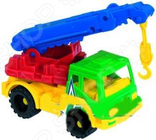 Машинка игрушечная Нордпласт «Кран Кама»