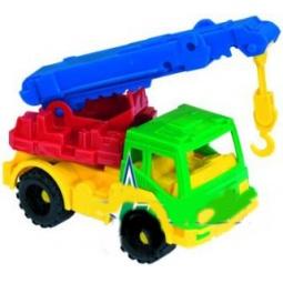 фото Машинка игрушечная Нордпласт «Кран Кама»
