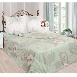 фото Комплект постельного белья Сова и Жаворонок «Жасмин». Евро. Размер простыни: 220х240 см. Размер наволочки: 70х70 см — 2 шт