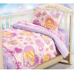 Купить Ясельный комплект постельного белья Бамбино «Ангелочки»
