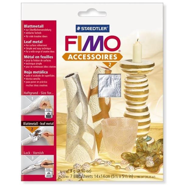 фото Фольга металлическая Fimo Easy metal 8780. Цвет: серебристый