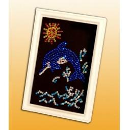 Купить Мозаика из пайеток Волшебная мастерская «Дельфинчик»