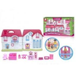 фото Кукольный дом с аксессуарами S+S TOYS «Волшебная вилла» 96815