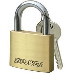 Замок Zipower PM 4242 навесной латунь 30мм
