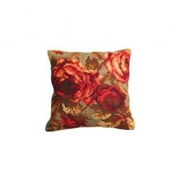Купить Набор для вышивания подушки Collection D'art 5113