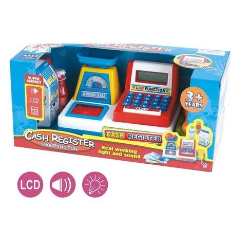 Купить Касса игрушечная Shantou Gepai с аксессуарами 34450