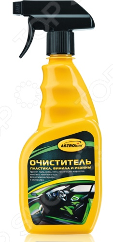 Очиститель пластика, винила и резины Астрохим ACT-365 очиститель деталей тормозов и сцепления астрохим act 4306 антискрип