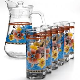 фото Набор: кувшин и 6 стаканов Loraine LR-24064