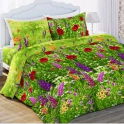 фото Комплект постельного белья Любимый дом «Люпины». Евро