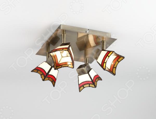 Светильник потолочный Rivoli Ruggles-C-4 это светильник, способный служить как дополнительным, так и основным источником света в небольшой комнате . Потолочный светильник подходит для комнаты с низким потолком, поскольку занимает совсем немного места. Дизайн светильника это важный акцент интерьера. Вместе с бра или подсветкой он создает интересный световой ансамбль, преображающий комнату.