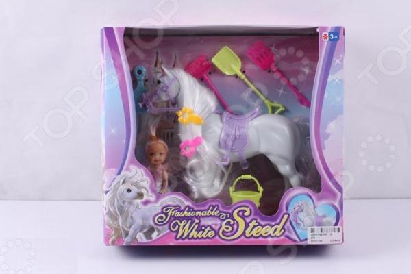 Набор игровой с куклой 1707307