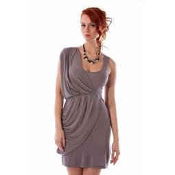 фото Платье Mondigo 8611. Цвет: карамельный. Размер одежды: 46