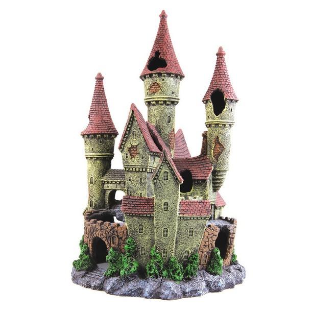фото Замок для аквариума DEZZIE «Сказка». Габариты: 180x175x325