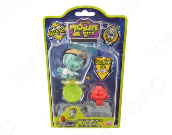 Набор игровой c фигуркой и аксессуарами Simba «Ловушка для зомби» В ассортименте фигурка для ребенка коллекционная simba зомби 2 шт в пакетике в ассортименте