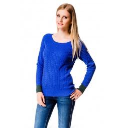 фото Свитер Mondigo 10022. Цвет: темно-синий. Размер одежды: 46