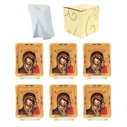 Купить Набор декоративных тарелок Elan Gallery «Казанская Божья Матерь»
