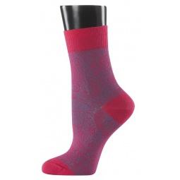 фото Носки женские Teller Paisley. Цвет: темно-розовый. Размер: 36-38