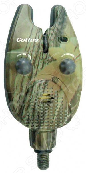 Сигнализатор поклевки электронный Cottus 5500000 сигнализатор поклевки hoxwell hl57 с пейджером