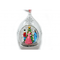 фото Елочное украшение Crystal Deco «Хоровод вокруг елочки»