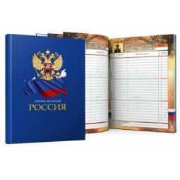 фото Дневник школьный Проф-Пресс «Символика РФ на синем»