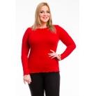 Фото Кофта Mondigo XL 1470. Цвет: красный. Размер одежды: 48