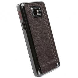 фото Чехол Krusell Gaia для Samsung I9100 Galaxy S II. Цвет: коричневый