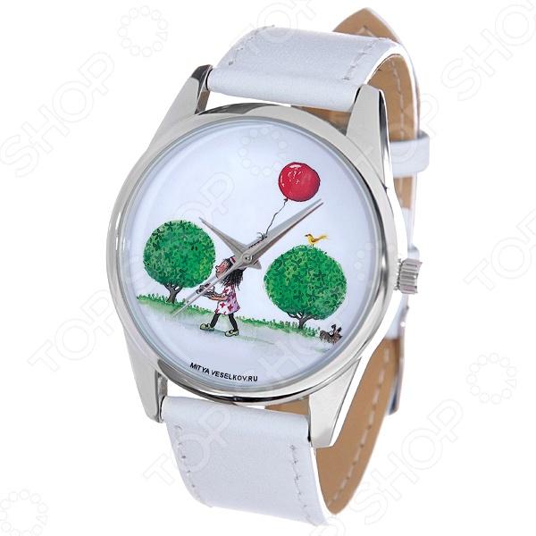Часы наручные Mitya Veselkov «Праздничный день» MV.White дизайнерские часы mitya veselkov праздничный день mv 201