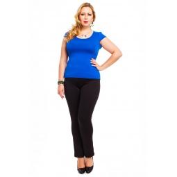 фото Футболка Mondigo XL 7001. Цвет: синий. Размер одежды: 48