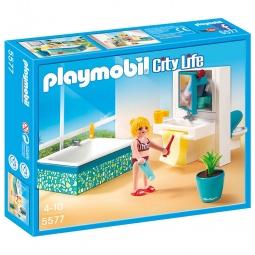 фото Конструктор игровой Playmobil «Особняки: Современная ванная комната»