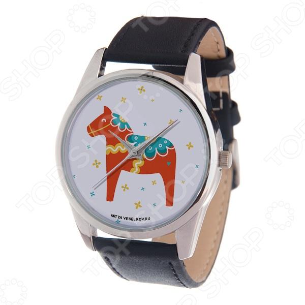 Часы наручные Mitya Veselkov «Скандинавская лошадка» MV