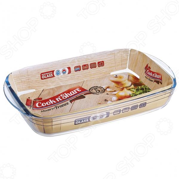 Форма для выпечки прямоугольная Pyrex Cook'n'Share форма для запекания pyrex cook