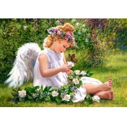 Купить Пазл 500 элементов Castorland «Ангел в саду»