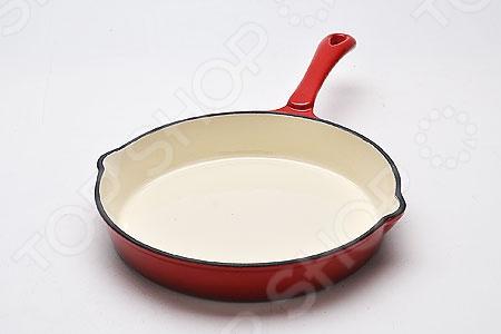 Сковорода с крышкой Mayer&amp;amp;Boch MB-22051Сковороды<br>Сковорода с крышкой Mayer Boch MB-22051 станет незаменимом атрибутом любой современной кухни. Литая сковородка выполнена из высококачественного чугуна, который идеально подходит для приготовления вкусных тушеных блюд, соусов и жаркое. Данный материал относится к высокопрочным и экологическим чистым материалам, из которых традиционно изготовляется такого рода посуда. Особенность этого материала заключается в том, что чем чаще вы используете его, тем лучше становятся его первоначальные свойства. Данная сковородка отличается высокой теплоемкостью. Она быстро нагревается и медленно остывает, поэтому блюда смогут дойди самостоятельно. Так как чугун не вступает с пищей в химические реакции, он не будет влиять на вкус и качество приготовляемых блюд. Внутренняя сторона покрыта специальным керамическим покрытием, которое не позволит продуктам прилипать или пригорать. Преимущества сковороды с крышкой Mayer Boch MB-22051:  подходит для приготовления на всех типах плит, включая индукционные,  можно мыть в посудомоечной машине;  подходит для хранения пиши в холодильнике;  ручка имеет силиконовую насадку.<br>